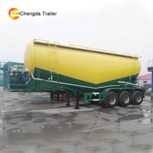 Dry Bulk Cement Silo Trailer, Bulker Cement Tank Semi Trailer pictures & photos