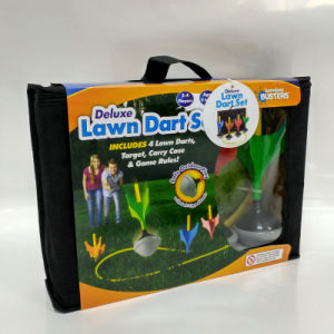Indoor and Outdoor Toys Party Games Garden Soft Lawn Darts with Glow in The Dark pictures & photos