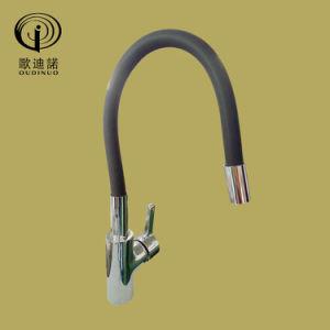 Brass Body Zinc Handle Kitchen Mixer Op35-Light Green pictures & photos