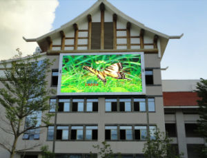 Wireless Control P10mm Full Color Outdoor Video LED Display for Advertising Screen (4*3m, 6*4m, 10*6m board) pictures & photos