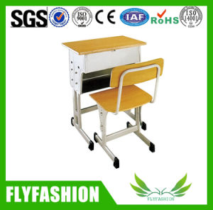 Simple Design Wooden School Desk and Chair (SF-28S) pictures & photos