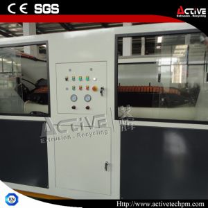 High Capacity Conical Twin Screw PVC Extruder pictures & photos