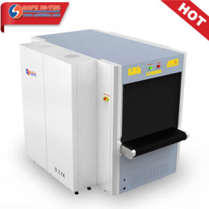 Airport Custom Triple view Cargo X-ray Screening Detection Machine SA10080T pictures & photos