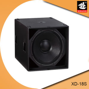 Xd-18s 18 Inch Outdoor Sound System Professional Bass Bin pictures & photos