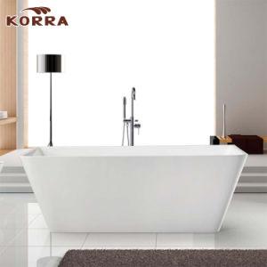 Freestanding Acrylic Simple Bathtub with Upc Ce/ Acs /Saso pictures & photos