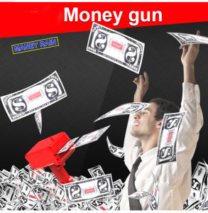 Fashion Money Launcher Gun for Funny (OEM) pictures & photos