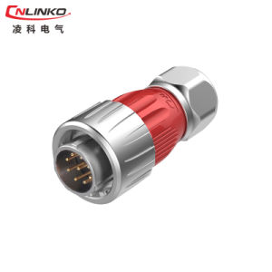 9 Pin Metal Female Socket Signal and Power Connector pictures & photos