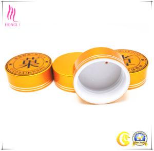 Cosmetic Aluminum Cap with Logo Printed pictures & photos