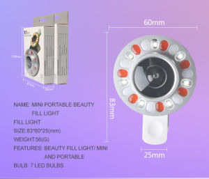 USB LED Fill Selfie Ring Light with Lens (RK LENS) pictures & photos