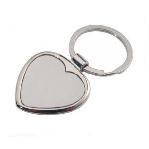 Wholesale Custom Logo Blank Metal Keychain pictures & photos