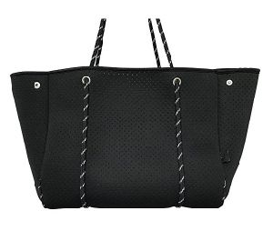 Large Hobo Designer Shoulder Carry Blank Perforated Neoprene Tote Bag for Woven pictures & photos