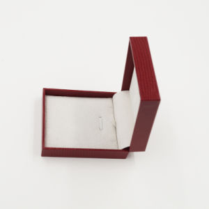 Soft Touch Velvet Flocking Lint Flannelette Plastic Box (J37-B1) pictures & photos