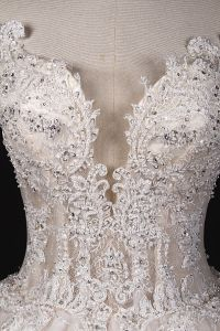 Hot Sale Heavy Beading Big Ball Wedding Dress Bridal Gown pictures & photos