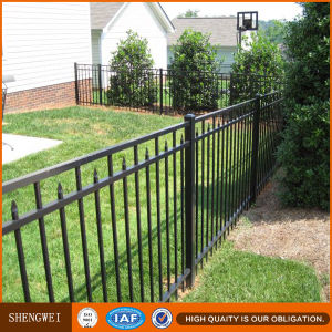 Cheap Galvanized Steel Garden Fence pictures & photos