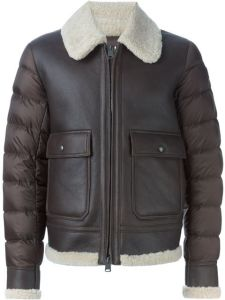 2016 Men′ S PU Fashion Jacket with High Quality & Quilting Sleeve pictures & photos