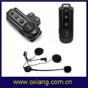 Wireless Walkie Talkie Headset 1000m Bluetooth Intercom Motorcycle Helmet Headset pictures & photos