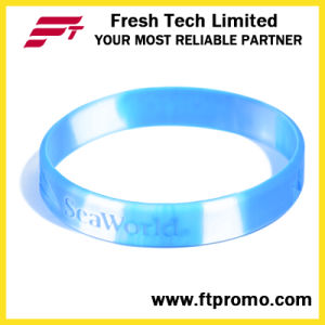 Company Promotion Gift Silicone Bracelet pictures & photos