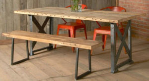 Vintage Industrial Furniture Dining Table pictures & photos
