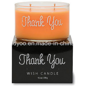 Unique Luxury Scented Glass Candle pictures & photos