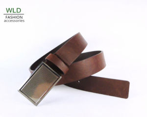 Classic and Basic Man Belt with Split Leather Linning M212 pictures & photos