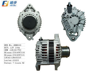 Alternator for Nissan 12V100A Lr190-752, 23100-Vc100 pictures & photos
