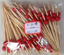 2016 China High Quality Red Bamboo Skewer pictures & photos