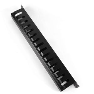 """1u 19"""" Metal Rack Mount Horizontal Cable Manager for Wiring pictures & photos"""