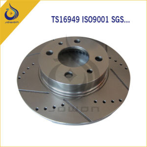 CNC Machining OEM No. Car Parts Brake Disc pictures & photos