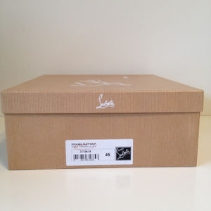 High Quality Brown Color Ragid Shoes Box with Custom Printing pictures & photos