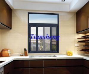 Popular Style Aluminum Sliding Window in China pictures & photos