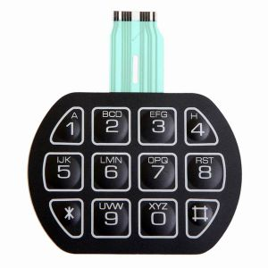 16 Embossed Metal Dome Buttons Membrane Switch Keypad pictures & photos