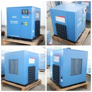 5.5kw Lubricant Oil Screw Air Compressor pictures & photos