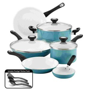 Hot Sale Professional Ceramic Nonstick Cookware 12 Piece Cookware Set pictures & photos