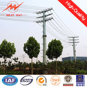 220kv Transmission Galvanized Steel Power Pole pictures & photos