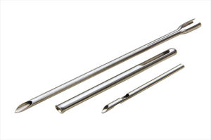 OEM Thin Wall Tube Swaged Tube with Side Hole pictures & photos