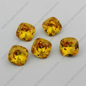 Light Topaz Garment Stone for Wholesale (DZ-3010) pictures & photos