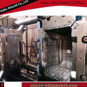 Turnover Box Plastic Mould Injection with 4 Drop Hot Runner pictures & photos