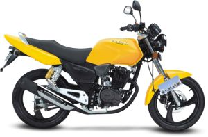 Byq150-2e Yellow Motorycle