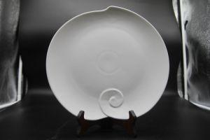 "Ceramic Dishes for Hotel Restaurant 10""Fairy Peach Dish"" pictures & photos"