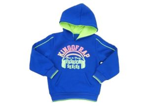 Puffy Print Boy Sweatshirt in Children Clothing (BC016) pictures & photos