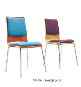 Wholesale Restaurant Furniture White Stacking Restaurant Chair (FOH-XM51-494) pictures & photos