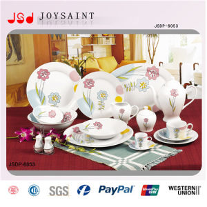 Hot Selling Squared Ceramic Dinner Set pictures & photos