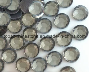 Iron on Rhinestone Heat Transfer Crystal Stone for High Heel Shoes (SS6 Transparent grey/A Grade) pictures & photos