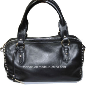 New Fashion Women Leather Tote Bag/China Wholesale (M10477) pictures & photos