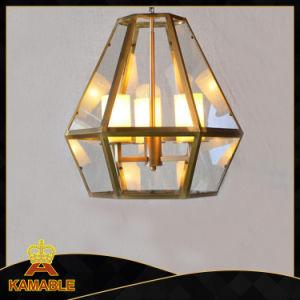 Modern Brass Glass Shade Pendant Light (KASG84-3) pictures & photos