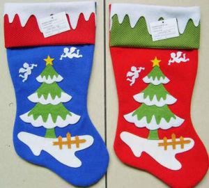 OEM New Design Handmade Christmas Stocking pictures & photos