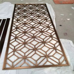 Laser Cut Decorative Screens Stainless Steel Metal Panels pictures & photos