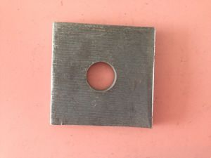 Timber Construction Flat Square Washer/ Waterproof Plate pictures & photos