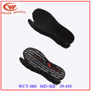 Best Quatlity Summer Sandals Outsole Outdoor Beach Sole with EVA and Rb Material pictures & photos