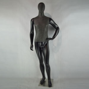 Matte Black Us Market Male Mannequin for Men Suits pictures & photos